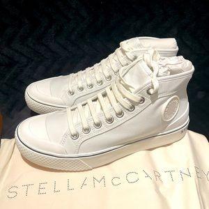 Stella McCartney canvas white high tops
